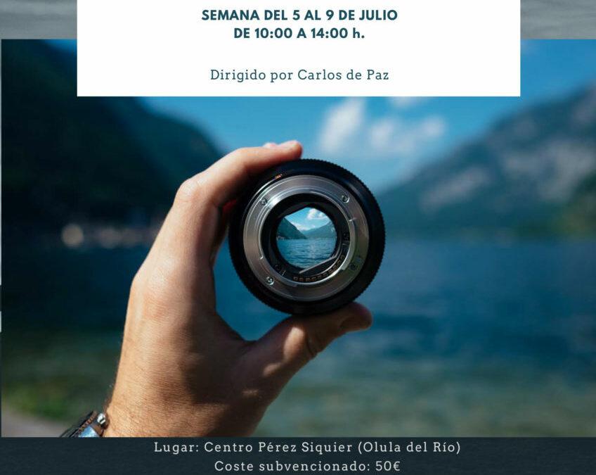 La Fundación Eduarda Justo y la Fundación de Arte Ibáñez Cosentino organizan un Summer Camp de fotografía